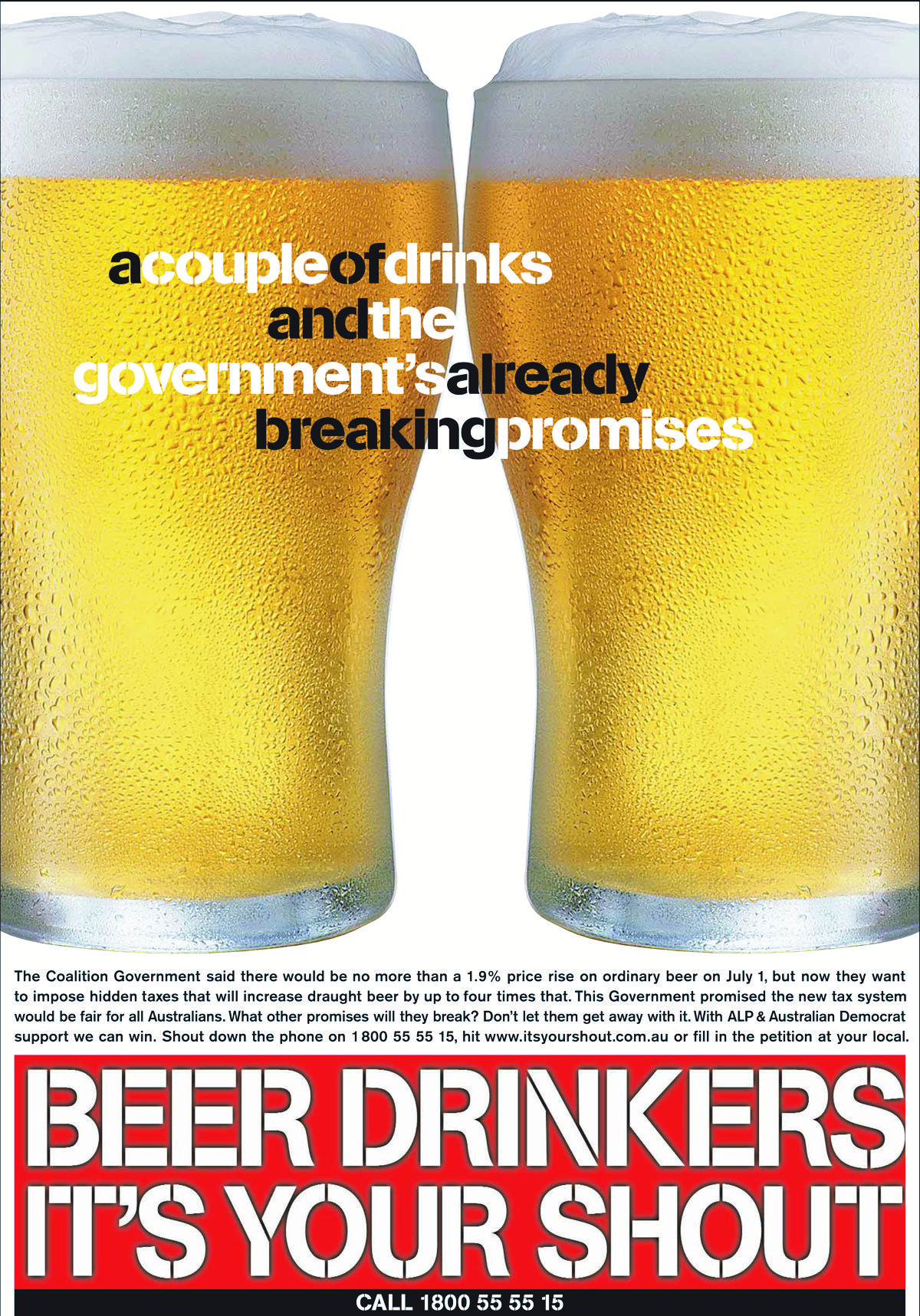 Aussie Beer - Couple