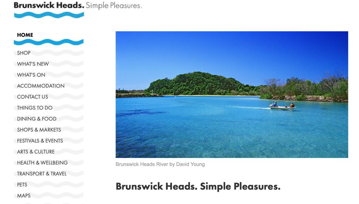 Brunswick Heads. Simple Pleasures