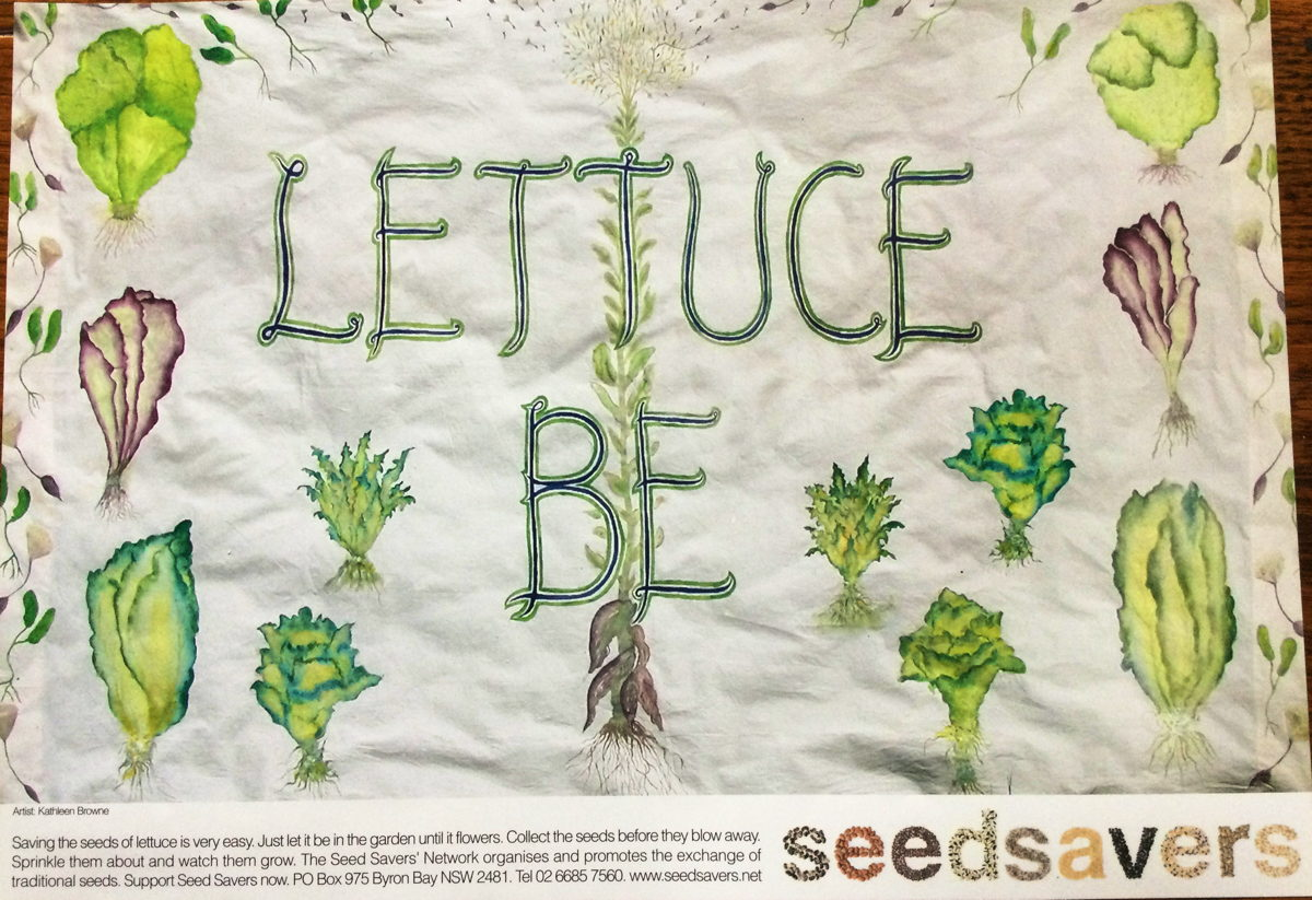 Seedsavers - Lettuce Be