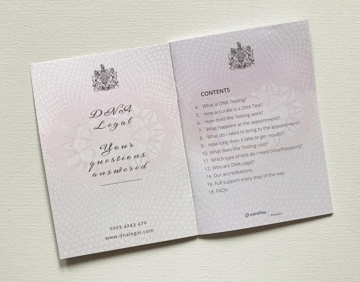 dna passport inside